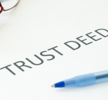 Why would you need your property in a Trust?